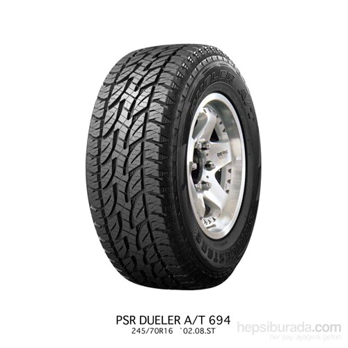 Bridgestone 195/80R15 96T A/T694 Oto Lastik