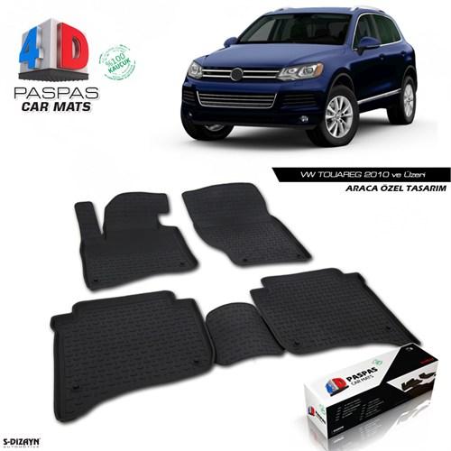 VW TOUAREG 4D Havuzlu Paspas 2010 ve Üzeri A+Kalite