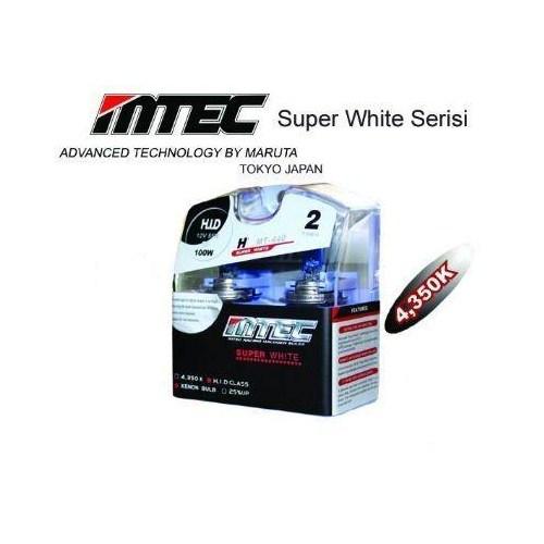 MTEC Süper White H4 Xenon Tip Ampül Seti 5691
