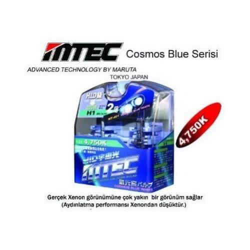 MTECCosmos Blue White H27(880) Xenon Tip Ampül Seti 5704