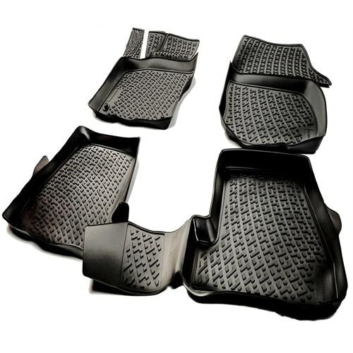 L.Locker Mercedes C Serisi W205 2014 Sonrası 3D Havuzlu Paspas