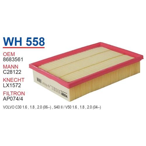 Wunder VOLVO V50 Hava Filtresi OEM NO:8683561