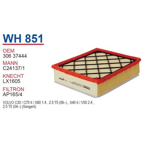 Wunder VOLVO S80 II Kasa Hava Filtresi OEM NO:30637444
