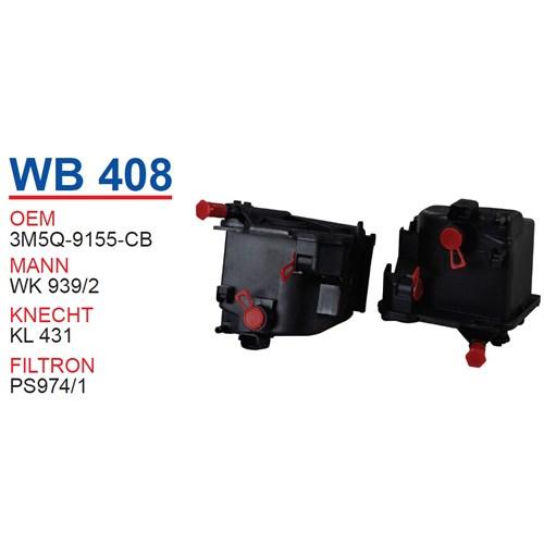 Wunder VOLVO S40 1.6 D Mazot Filtresi OEM NO:30750085