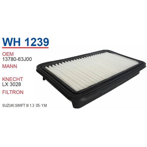 Wunder SUZUKI Swift III 1.3 2005 >> Yeni Model Hava Filtresi OEM NO:13780-63J00