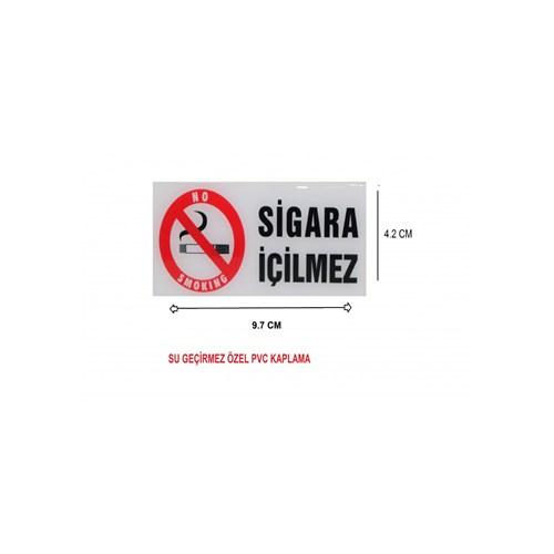SCHWER Sigara içilmez PVC Su Geçirmez Sticker