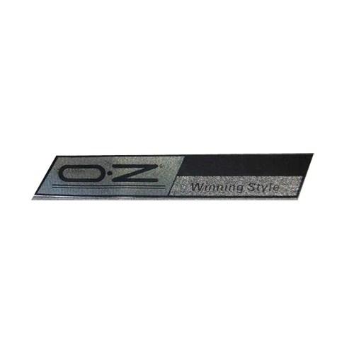 Oz Racing Aluminyum Dizayn Sticker 8x1,5 cm
