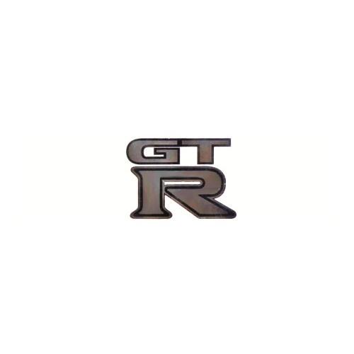 GT R Aluminyum Dizayn Sticker 5x8 cm