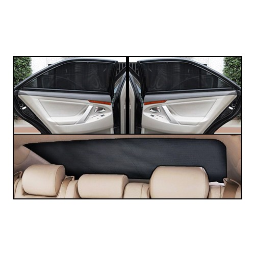Peugeot 206+ Lüks Takmatik Perde (3 Parça)