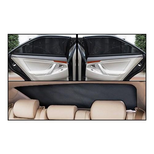 Fiat Doblo Elegance 2010 Sonrası Lüks Takmatik Perde (Manuel Cam, 5 Parça)