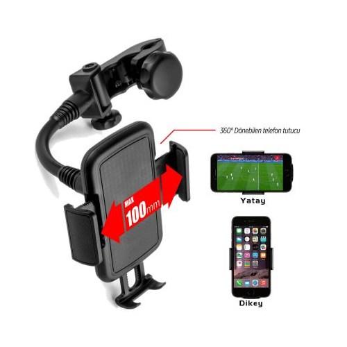 Automix Telefon Tutucu Kafalık Tip