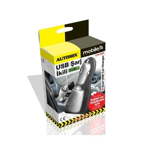 Automix Usb Şarj Cihazı 3.1 12-24 Volt