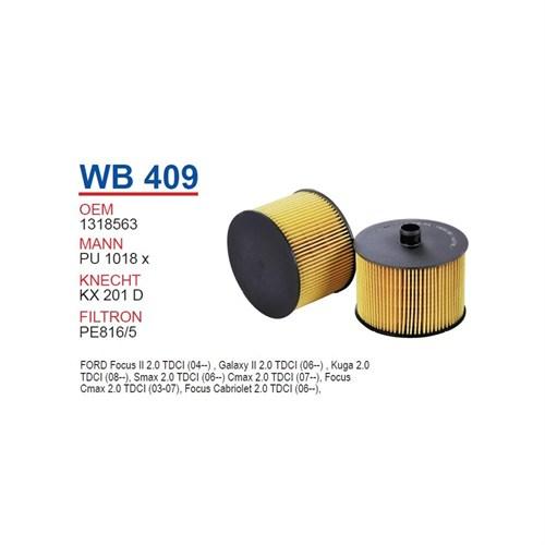 Wunder Ford Focus Iı 2.0 Tdcı Yağ Filtresi Oem No: 1318563