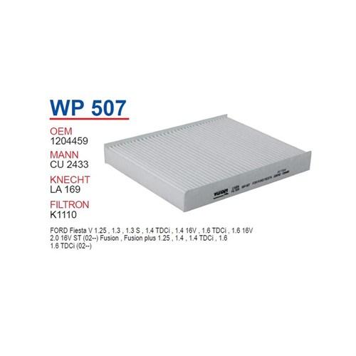 Wunder Ford Fusion 1.6 Tdcı Polen Filtresi Oem No: 1204459