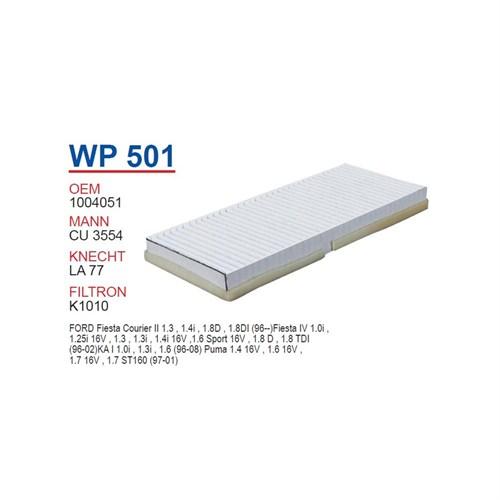 Wunder Ford Ka Polen Filtresi Oem No: 1004051