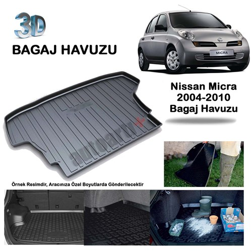 Autoarti Nissan Micra Bagaj Havuzu- 2004/2010-9007629