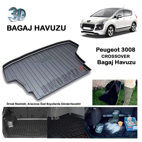 Autoarti Peugeot 3008 Crossover Bagaj Havuzu-9007656