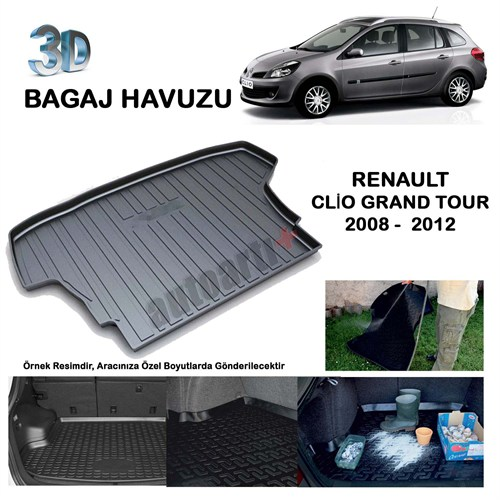Autoarti Renault Clio Grandtour Bagaj Havuzu-9007673