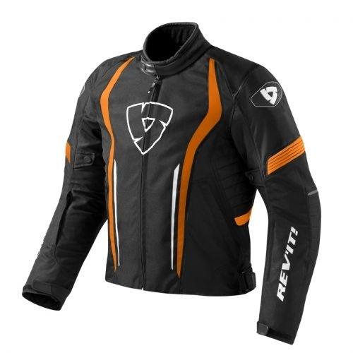 Revit Shield Motosiklet Mont (Siyah-Turuncu)