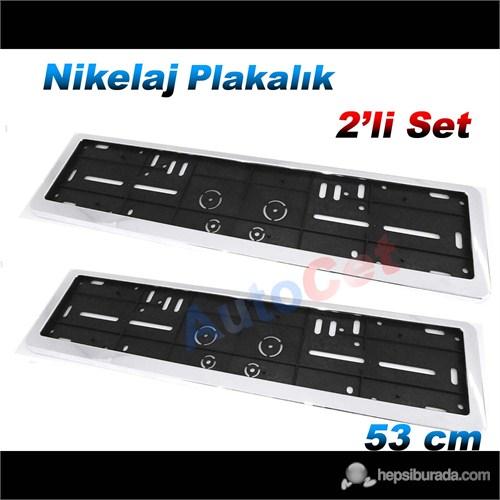 AutoCet 53 cm Nikelaj M102 Plakalık 2´li Set (51450)