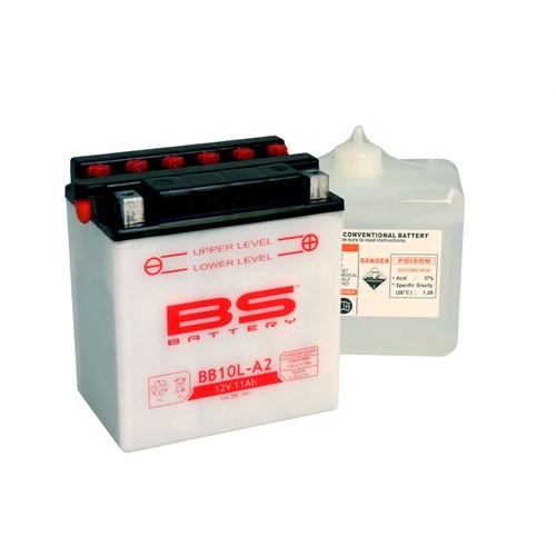 Bs-Battery Bb10l-A2 (Yb10l-A2) 12V 11Ah 160Cca Standart Tip Motosiklet Aküsü