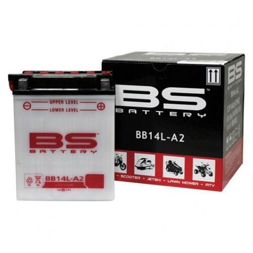 Bs-Battery Bb14l-A2 (Yb14l-A2) 12V 14Ah 190Cca Standart Tip Motosiklet Aküsü