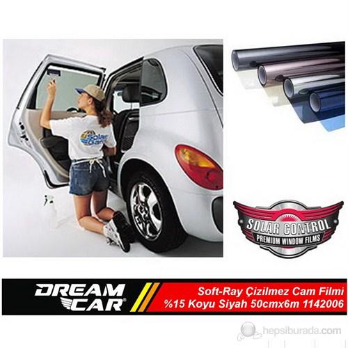 Dreamcar Soft-Ray Çizilmez Cam Filmi Koyu Siyah %15 50cmx6m 1142006