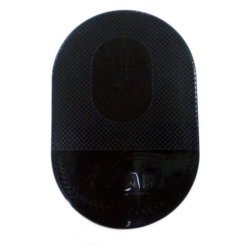 AutoCsi Süper Nano Kaydırmaz Ped Oval Siyah 11214