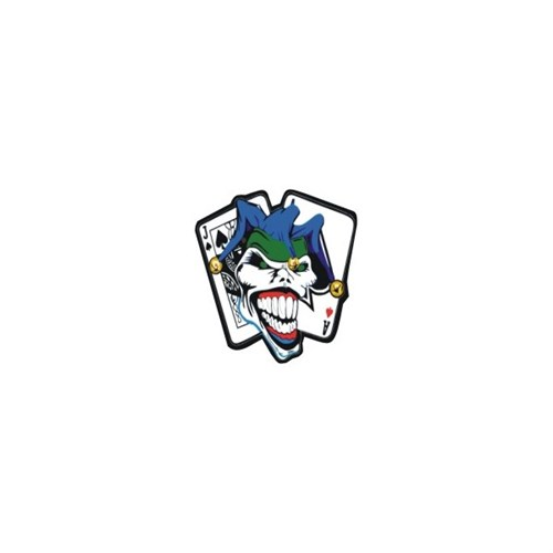Sticker Masters Joker Card Sticker