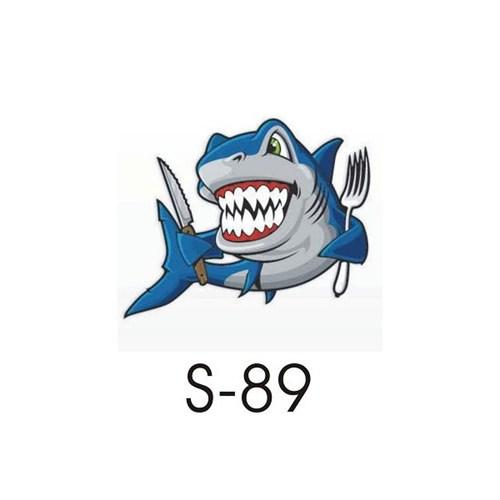 Sticker Masters Jaws Sticker