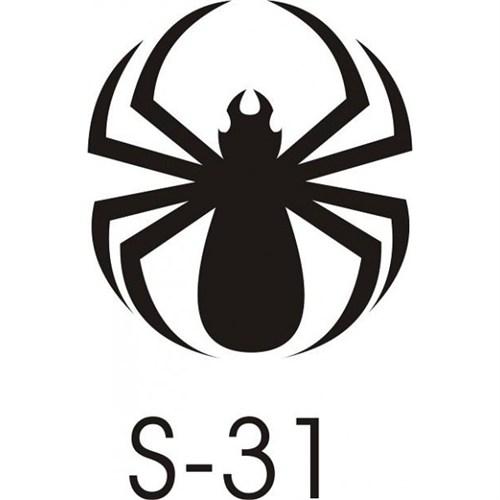 Sticker Masters Örümcek Sticker