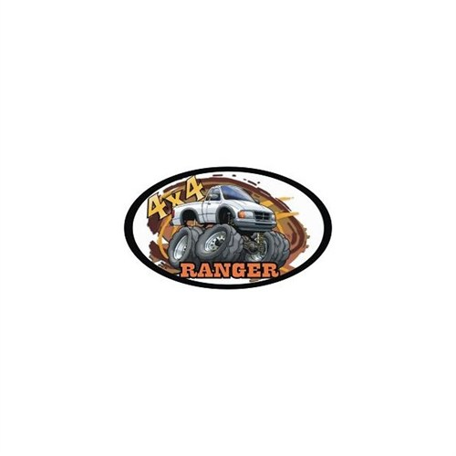 Sticker Masters 4X4 Ranger Sticker