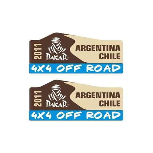 Sticker Masters Argentina Dakar Sticker