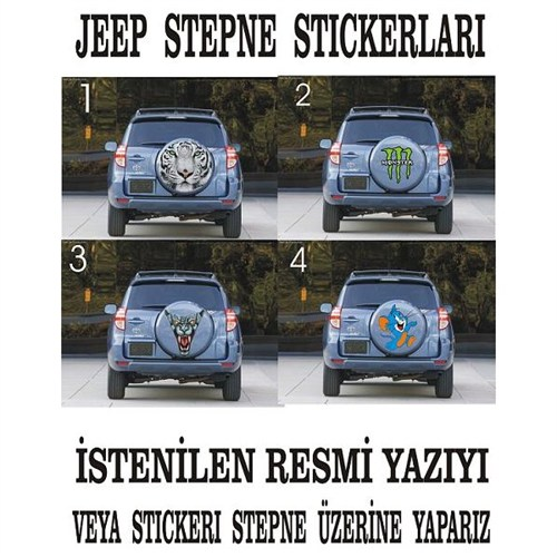Sticker Masters Jeep Sticker 3