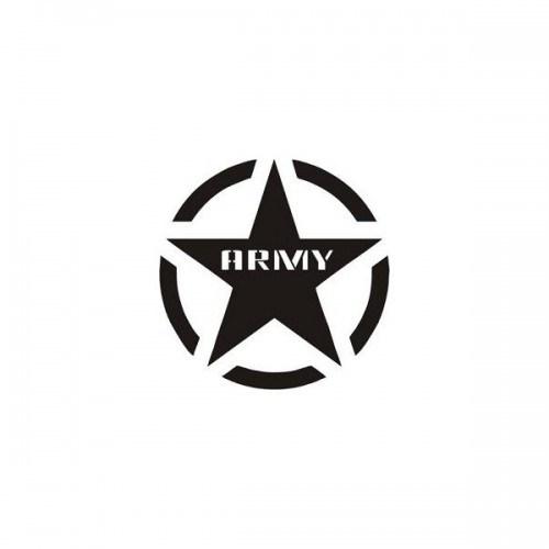 Sticker Masters Army Jeep Sticker