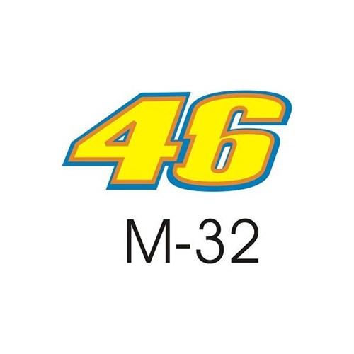Sticker Masters 46 Rossi Sticker