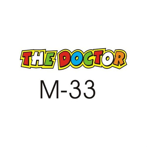 Sticker Masters The Doctor Sticker