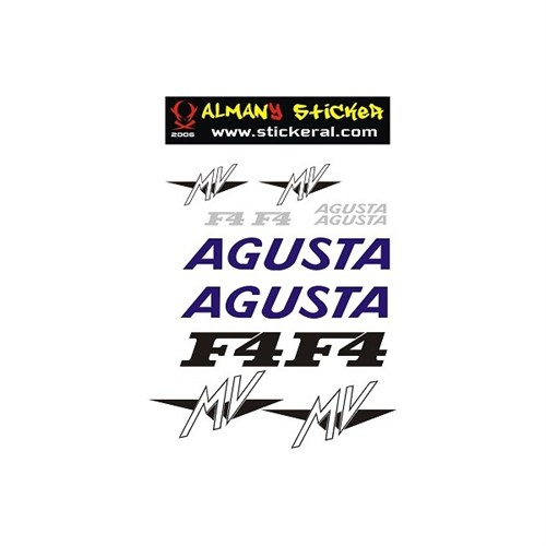 Sticker Masters Agusta Sticker Set