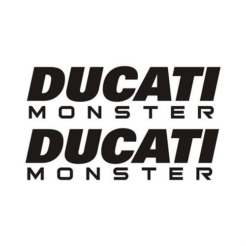 Sticker Masters Ducati Monster Depo Sticker