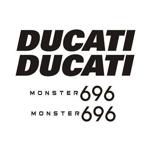 Sticker Masters Ducati 696 Sticker Set
