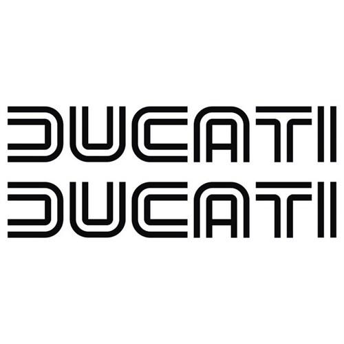 Sticker Masters Ducati Logo Depo Sticker