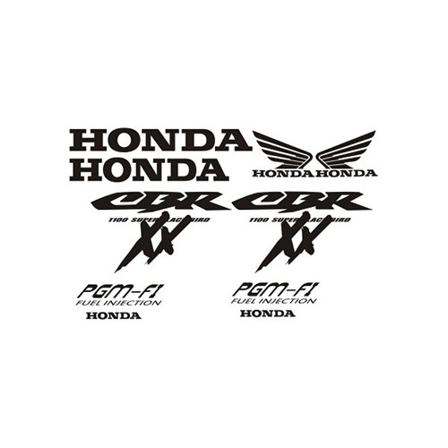 Sticker Masters Honda Xx1100 Sticker Set