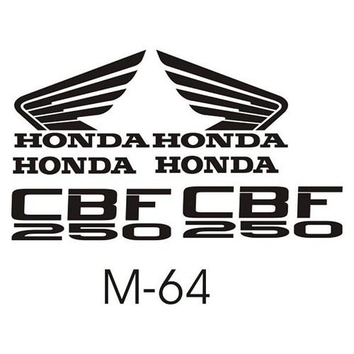 Sticker Masters Honda Cbf 250 Sticker Set