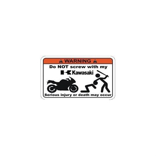 Sticker Masters Kawasakime Dokunma Sticker