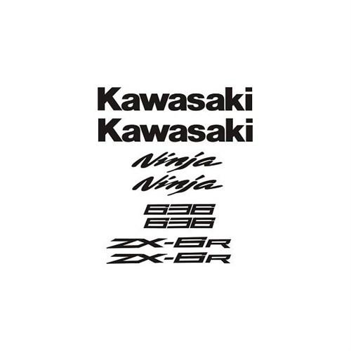Sticker Masters Kawasaki 636 Sticker Set