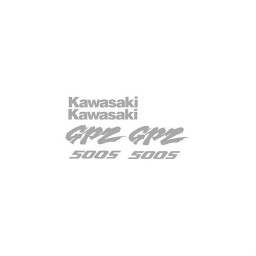 Sticker Masters Kawasaki Gpz 500 Sticker Set