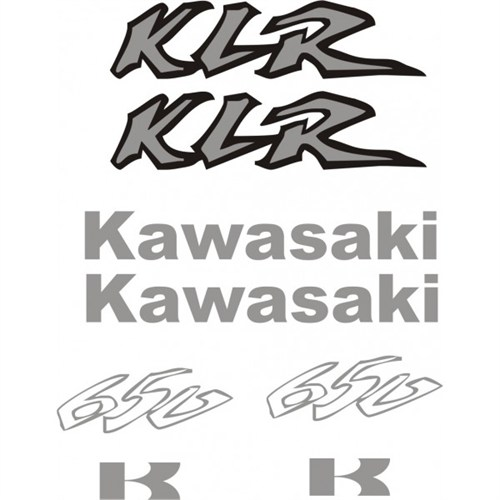 Sticker Masters Kawasaki Klr 650 Sticker Set