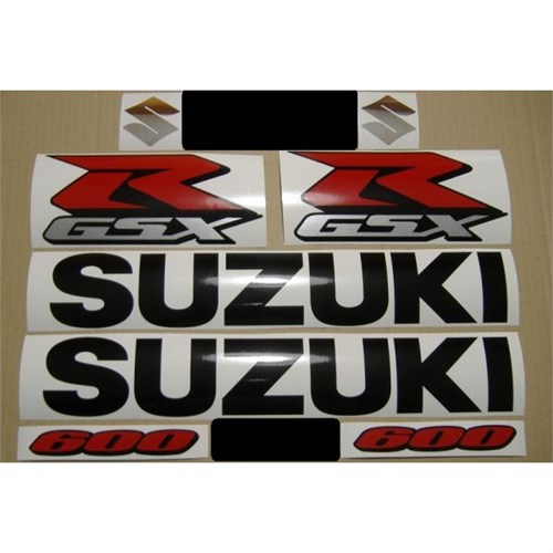 Sticker Masters Suzuki Gsxr 600 Sticker Set