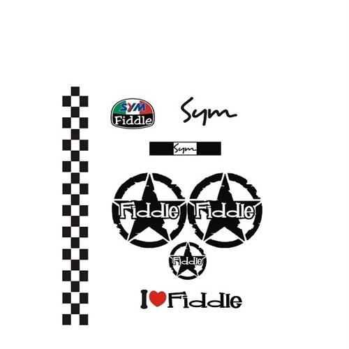 Sticker Masters Sym Fiddle Sticker Set-1