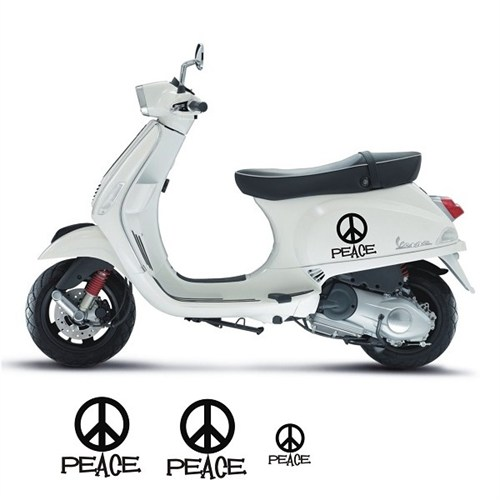 Sticker Masters Vespa Peace Sticker